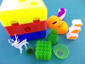 3Dプリンター出力物